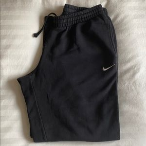 Nike Men's Black Sweatpants Large